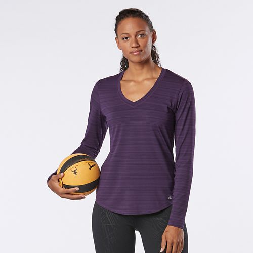 Womens R-Gear Finish First Long Sleeve No Zip Technical Tops - Let's Jam L