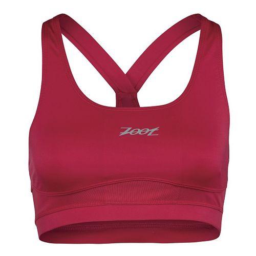 Womens Zoot Run Moonlight Sports Bras - Punch XL