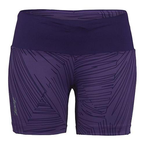 Womens Zoot Run Moonlight 5 Unlined Shorts - Deep Purple S