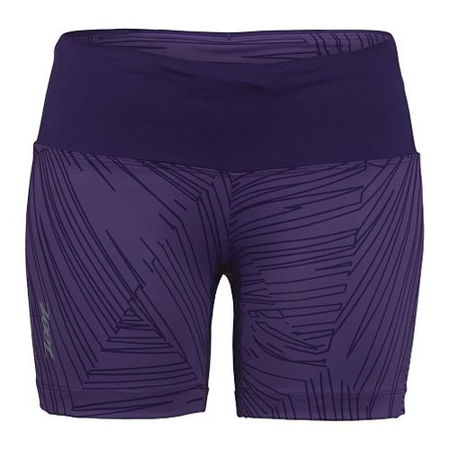 Womens Zoot Run Moonlight 5 Unlined Shorts - Deep Purple XL