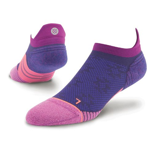 Womens Stance Dreadmill Tab Socks - Purple M