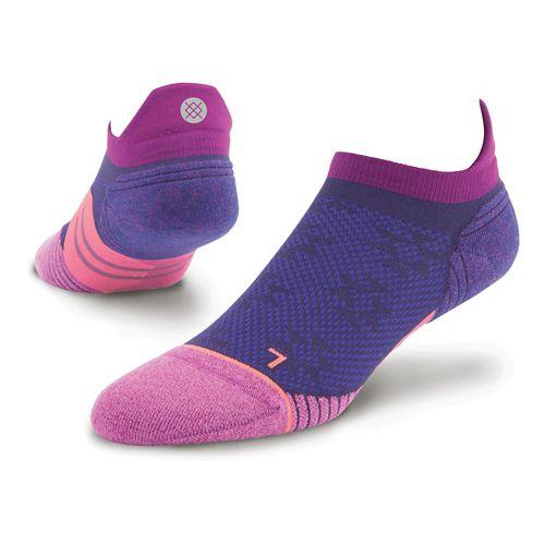 Womens Stance Dreadmill Tab Socks - Purple M