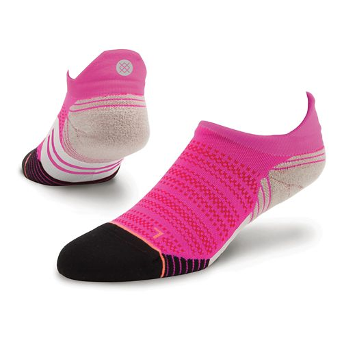 Womens Stance Heartbeat Tab Socks - Pink M