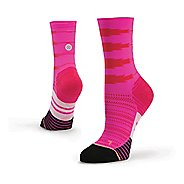 Womens Stance Heartbeat Compression Crew Socks