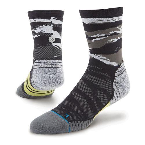 Men's Stance Bandit Crew Socks - Black L