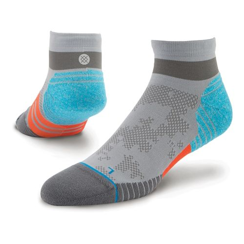 Mens Stance Cadence Quarter Socks - Grey L