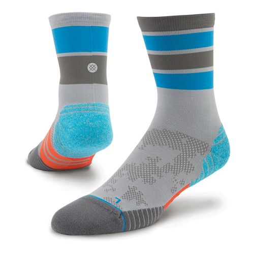 Mens Stance Cadence Crew Socks - Grey L