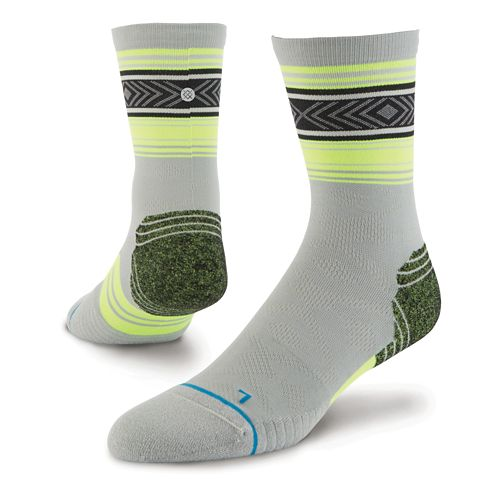 Mens Stance Meter Crew Socks - Grey L