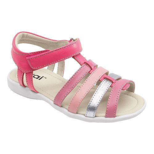 Kids See Kai Run Keli Sandals Shoe - Hot Pink 8