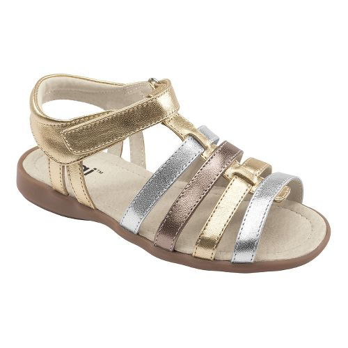Kids See Kai Run Keli Sandals Shoe - Gold 1.5