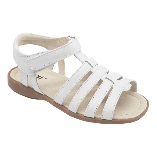 Kids See Kai Run Keli Sandals Shoe - White 9
