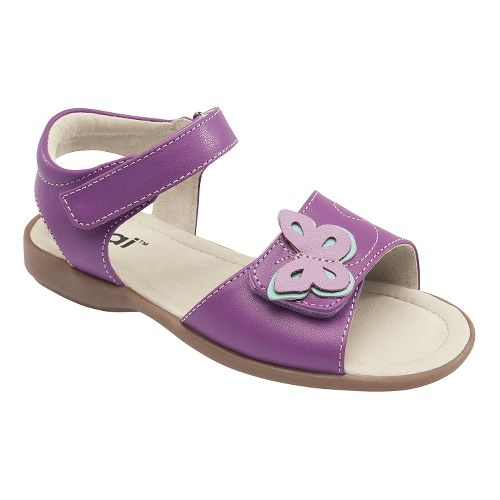 Kids See Kai Run Piper Sandals Shoe - Purple 8.5