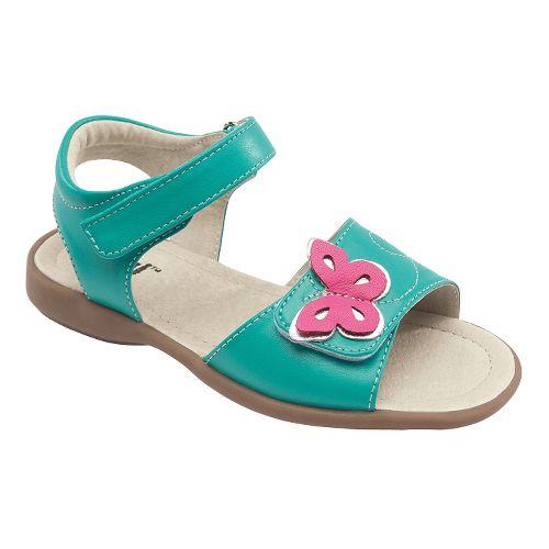 Kids See Kai Run Piper Sandals Shoe - Aqua 12