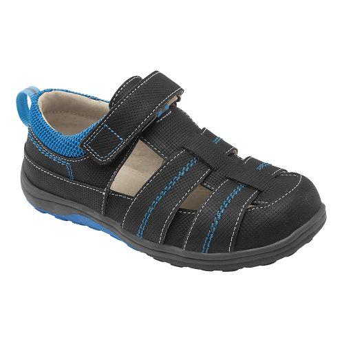 Kids See Kai Run Christopher II Sandals Shoe - Black 10.5