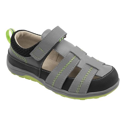Kids See Kai Run Christopher II Sandals Shoe - Grey 11.5