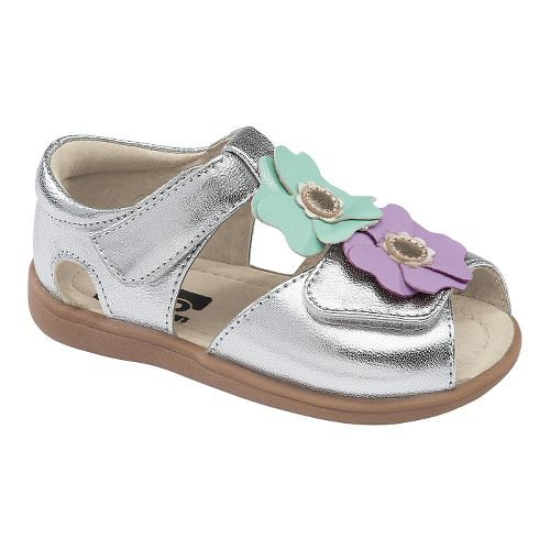 Kids See Kai Run Akira Sandals Shoe - Silver 8