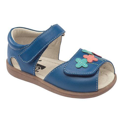 Kids See Kai Run Ginny Sandals Shoe - Blue 8