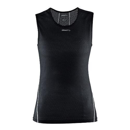 Womens Craft Cool Mesh Superlight Sleeveless Technical Tops - Black XXL