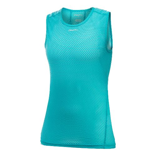 Womens Craft Cool Mesh Superlight Sleeveless & Tank Technical Tops - Resort XS