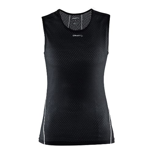 Womens Craft Cool Mesh Superlight Sleeveless Technical Tops - Black XL