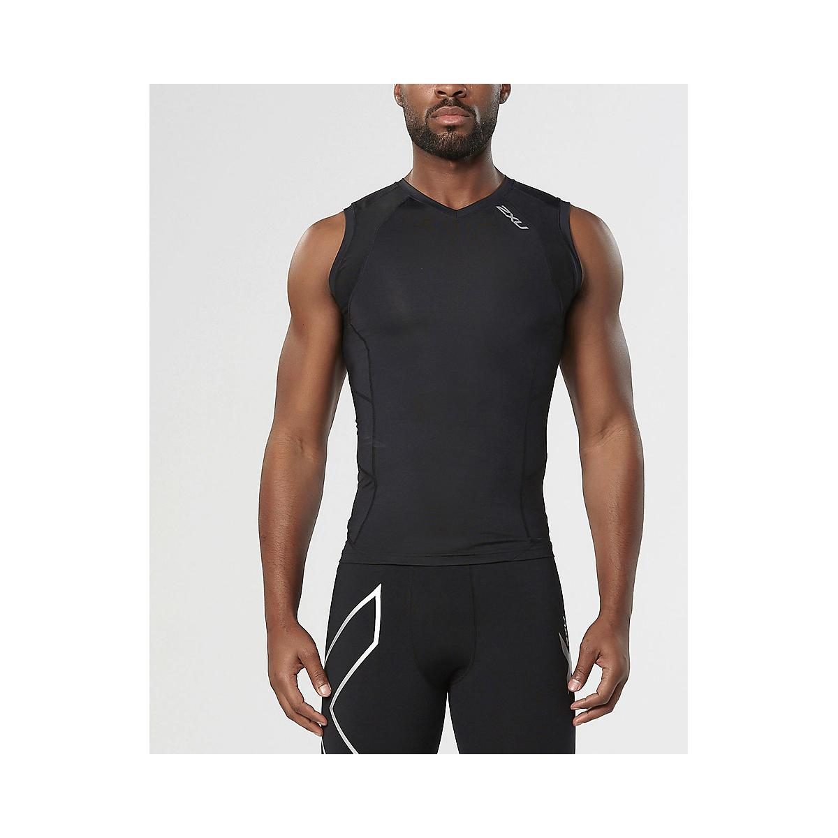 Men's 2XU�Compression Sleeveless Top