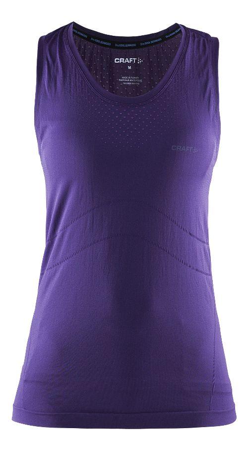 Womens Craft Cool Seamless Singlet Sleeveless & Tank Technical Tops - Dynasty S/M