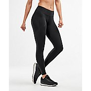 Womens 2XU Mid-Rise Compression Full Length Tights