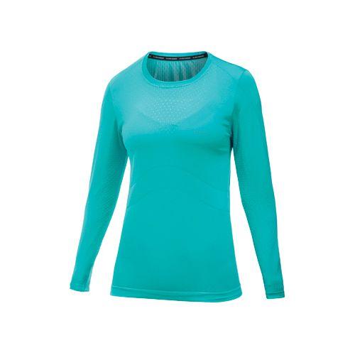 Womens Craft Cool Seamless Long Sleeve No Zip Technical Tops - Resort L/XL