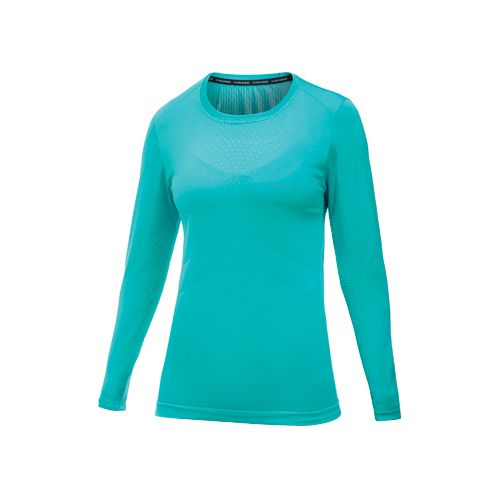 Womens Craft Cool Seamless Long Sleeve No Zip Technical Tops - Resort S/M