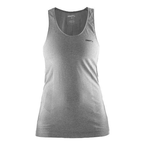 Womens Craft Seamless Touch Sleeveless & Tank Technical Tops - Grey S/M