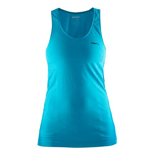 Womens Craft Seamless Touch Tank Technical Tops - Resort M/L