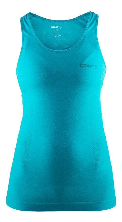 Womens Craft Seamless Touch Sleeveless & Tank Technical Tops - Drop Melange XS/S