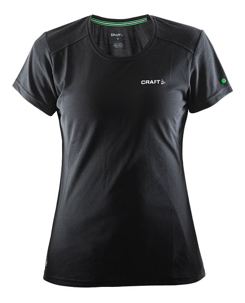 Womens Craft In The Zone T-Shirt Short Sleeve Technical Tops - Black S