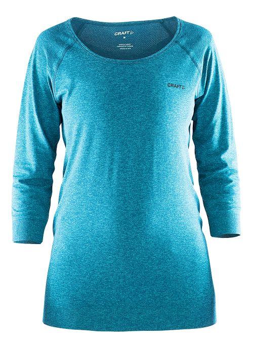 Womens Craft Cool Seamless Touch Sweatshirt Long Sleeve Technical Tops - Resort M/L
