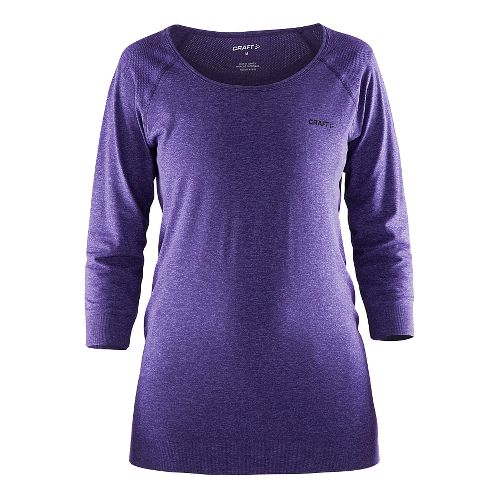 Womens Craft Cool Seamless Touch Sweatshirt Long Sleeve Sweater Technical Tops - Dynasty M/L