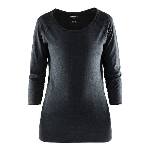 Womens Craft Cool Seamless Touch Sweatshirt Long Sleeve Sweater Technical Tops - Dynasty XS/S