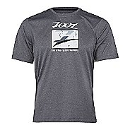 Mens Zoot Run Surfside Graphic Tee Short Sleeve Technical Tops