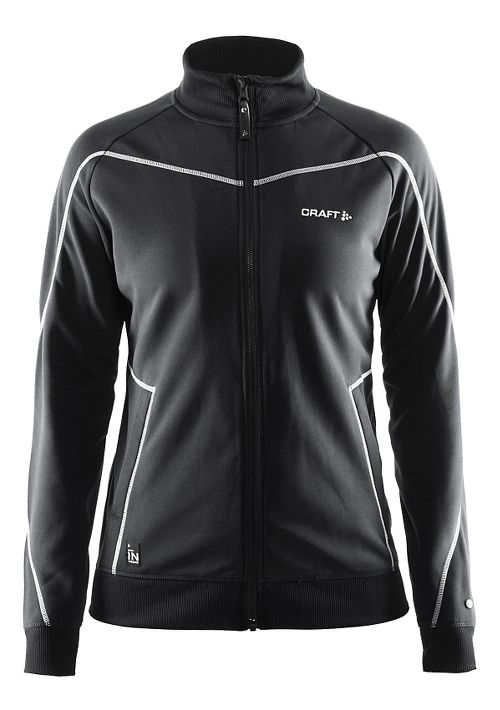 Womens Craft In The Zone Hoodie & Sweatshirts Technical Tops - Black L