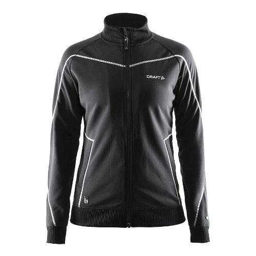 Womens Craft In The Zone Sweatshirt Lightweight Jackets - Black XL
