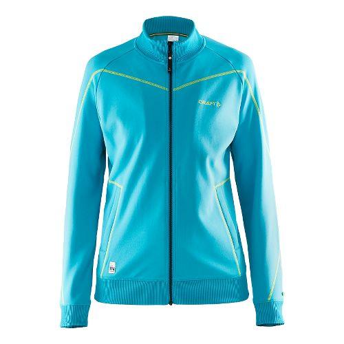Womens Craft In The Zone Sweatshirt Lightweight Jackets - Resort M