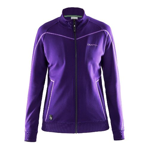 Womens Craft In The Zone Sweatshirt Lightweight Jackets - Dynasty S