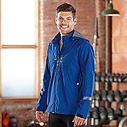 Mens Road Runner Sports Thunderstruck Rain Outerwear Jackets - Cobalt S