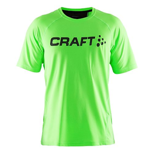 Mens Craft Precise Tee Short Sleeve Technical Tops - Gecko L