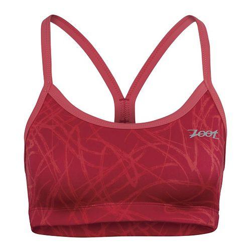 Womens Zoot Performance Tri Cami Sports Bras - Pink Grapefruit S