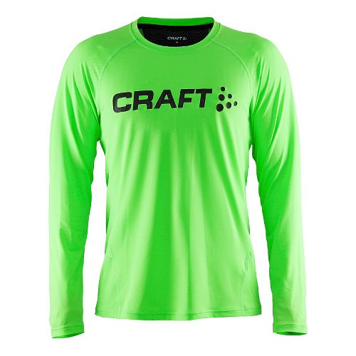 Mens Craft Precise Long Sleeve Technical Tops - Gecko L