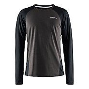Mens Craft Precise Long Sleeve No Zip Technical Tops