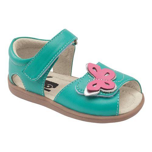 Kids See Kai Run Maryssa Sandals Shoe - Aqua 7