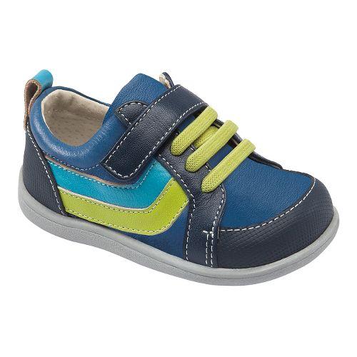Kids See Kai Run Finnley Casual Shoe - Blue 6