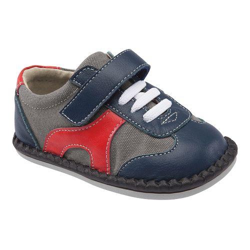 Kids See Kai Run Griffin Casual Shoe - Grey 8