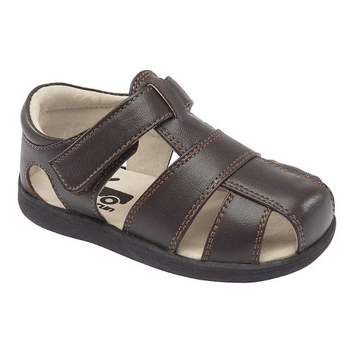 Kids See Kai Run Jude Sandals Shoe - Brown 4